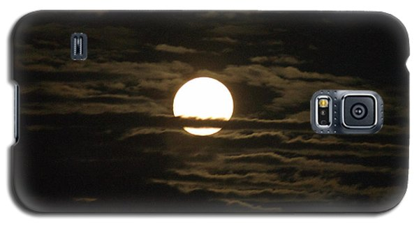 Galaxy S5 Case featuring the photograph Seneca Lake Moon by William Norton