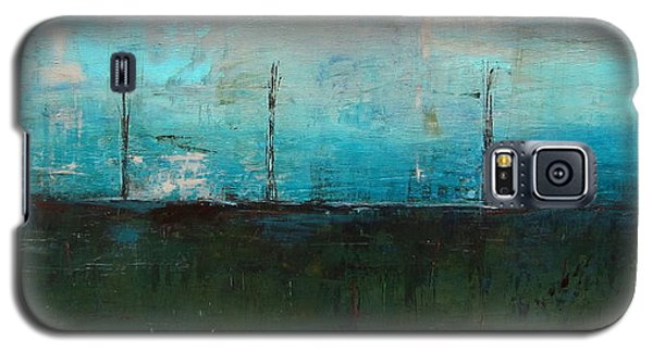 Galaxy S5 Case featuring the painting Serene by Kathy Sheeran