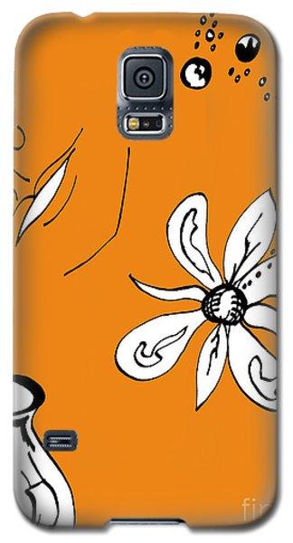 Serenity In Orange Galaxy S5 Case