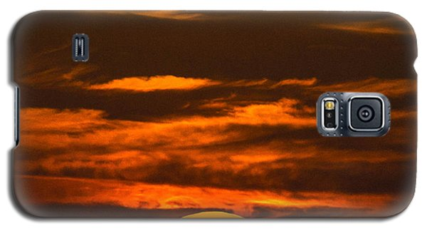 Setting Sun Flyby Galaxy S5 Case