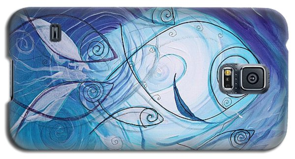 Seven Ichthus And A Heart Galaxy S5 Case