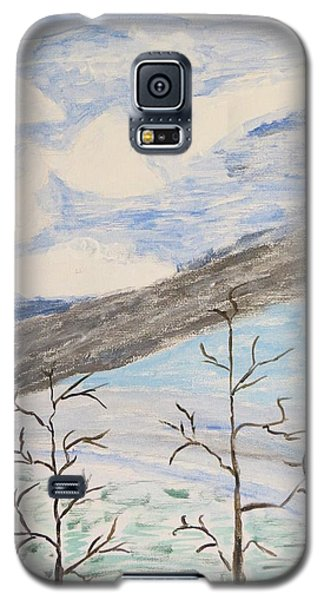 Galaxy S5 Case featuring the painting Shades Of Nature by Sonali Gangane