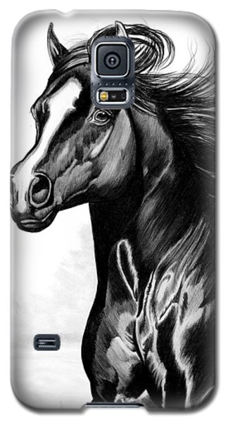 Shading Of A Horse In Bic Pen Galaxy S5 Case