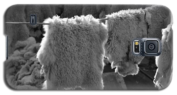Galaxy S5 Case featuring the photograph Sheepskin by Emanuel Tanjala
