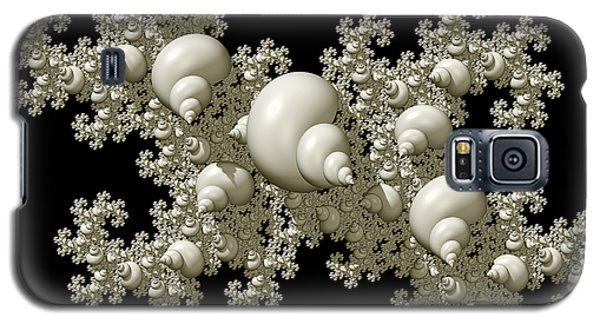 Shell Dragon Fractal Form Galaxy S5 Case