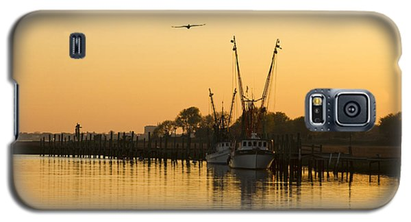 Shem Creek Galaxy S5 Case by Carrie Cranwill