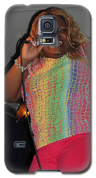 Galaxy S5 Case featuring the photograph Shemekia Copeland by Mike Martin