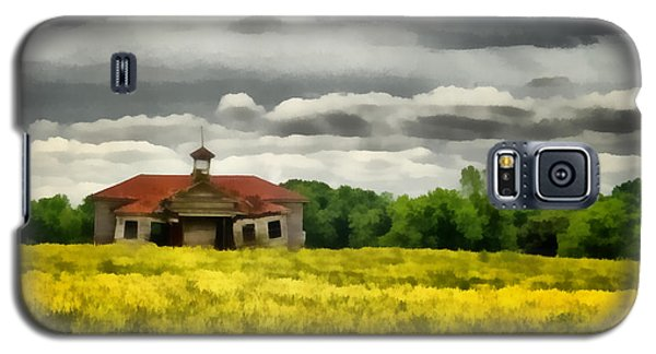Galaxy S5 Case featuring the painting Shiloh School by Lynne Jenkins