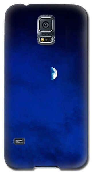 Galaxy S5 Case featuring the photograph Shoot The Moon by Randall  Cogle