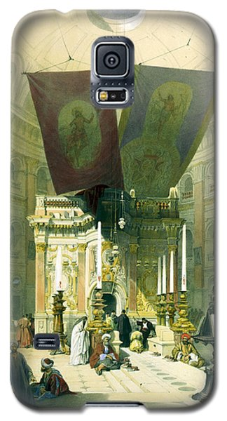 Shrine Of The Holy Sepulchre April 10th 1839 Galaxy S5 Case