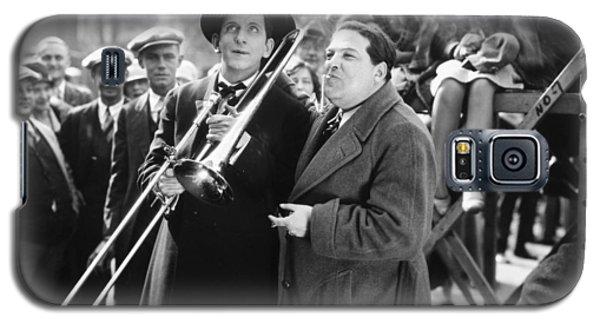 Trombone Galaxy S5 Case - Silent Still: Musicians by Granger