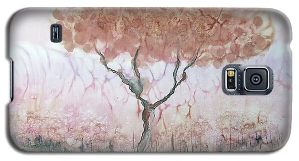 Silk Tree In Brown And Purple  Galaxy S5 Case