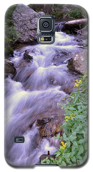 Galaxy S5 Case featuring the photograph Silky Stream by Zawhaus Photography