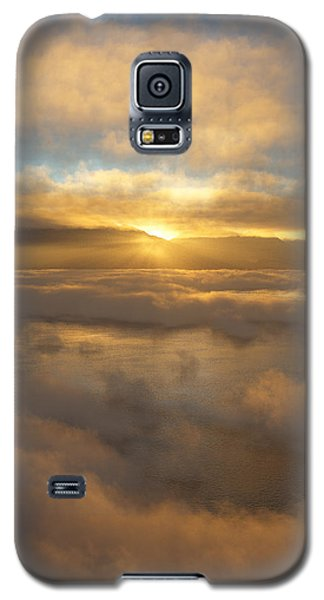 Silver Lake Sunrise Galaxy S5 Case