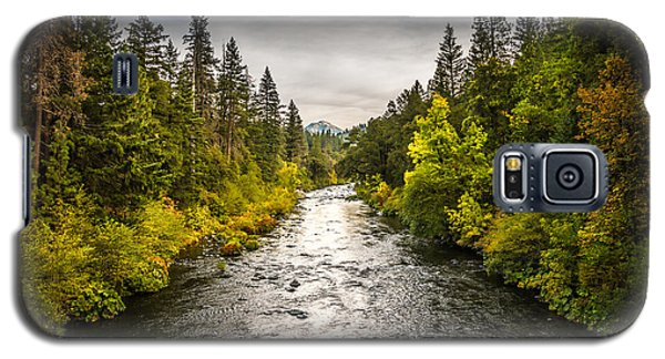 Galaxy S5 Case featuring the photograph Simms Road by Randy Wood