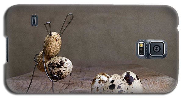 Rabbit Galaxy S5 Case - Simple Things Easter 03 by Nailia Schwarz
