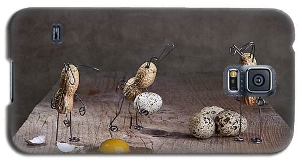 Rabbit Galaxy S5 Case - Simple Things Easter 06 by Nailia Schwarz