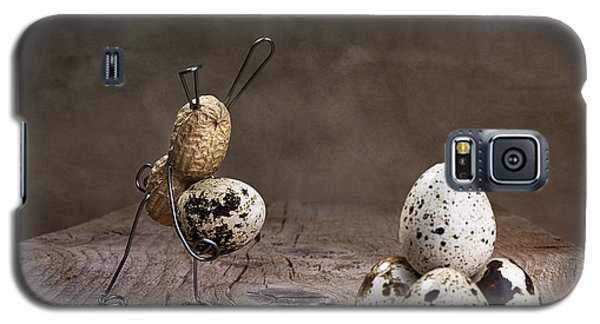Rabbit Galaxy S5 Case - Simple Things Easter 07 by Nailia Schwarz