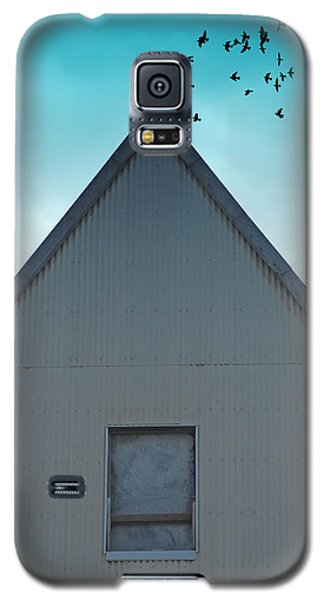 Galaxy S5 Case featuring the photograph Sitting On The Peak by Kathleen Grace