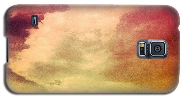 #sky #cary #colourful #clouds ☁ Galaxy S5 Case by Katie Williams