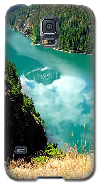 Galaxy S5 Case featuring the photograph Sky Reflection In Ross Lake by Tanya  Searcy
