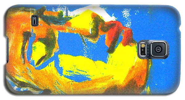 Galaxy S5 Case featuring the painting Sleep by Gabrielle Wilson-Sealy