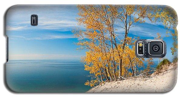 Sleeping Bear Dunes Vista 001 Galaxy S5 Case by Larry Carr