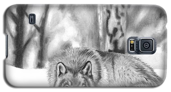 Sleeping In The Snow Galaxy S5 Case