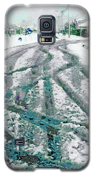 Galaxy S5 Case featuring the photograph Slipping And Sliding  by Steve Taylor