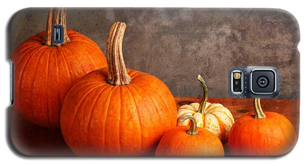 Galaxy S5 Case featuring the photograph Small Decorative Pumpkins by Verena Matthew