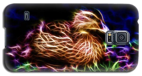 Smile Juvenile Mallard - Fractal Galaxy S5 Case