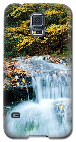 Smoky Mountain Waterfall Galaxy S5 Case