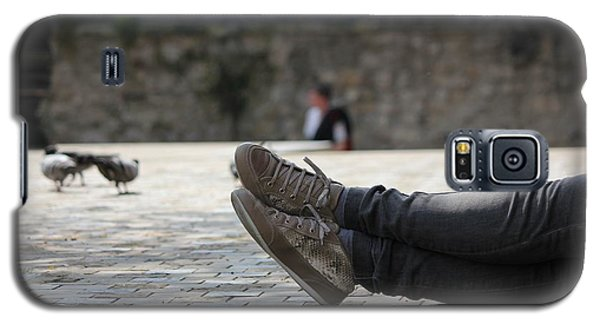 Galaxy S5 Case featuring the photograph Sneakers by Rdr Creative