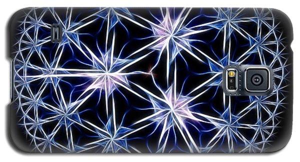 Snowflakes Galaxy S5 Case by Danuta Bennett