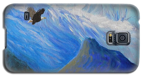 Soaring Around The Chugachs Alaska Galaxy S5 Case