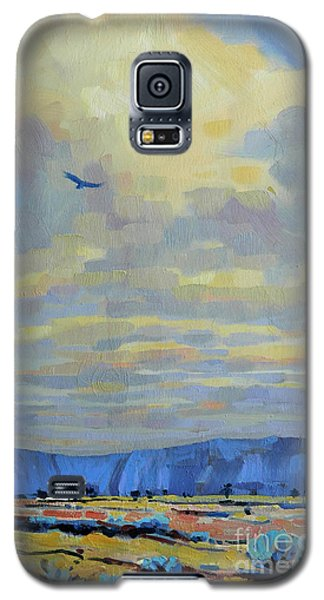 Galaxy S5 Case featuring the painting Soaring by Donald Maier