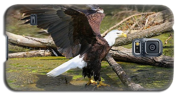 Galaxy S5 Case featuring the photograph Soaring Eagle by Elizabeth Winter