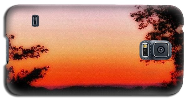 Edit Galaxy S5 Case - Soft Sunset In The Smokies by Mari Posa