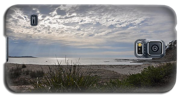 Solitary Sea Kayak At Dawn In Australia Galaxy S5 Case