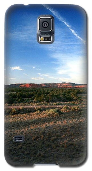 Galaxy S5 Case featuring the photograph Somewhere Off The Interstate In New Mexico by Lon Casler Bixby
