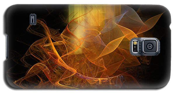 Galaxy S5 Case featuring the digital art Soul Flower by Sipo Liimatainen