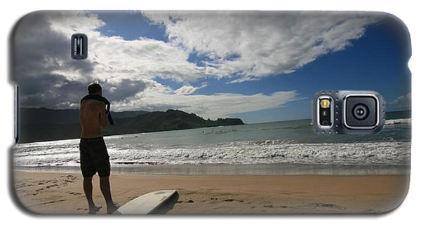Galaxy S5 Case featuring the photograph Soul Surfer by Lennie Green
