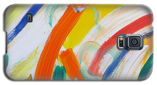 Galaxy S5 Case featuring the painting Souls by Sonali Gangane