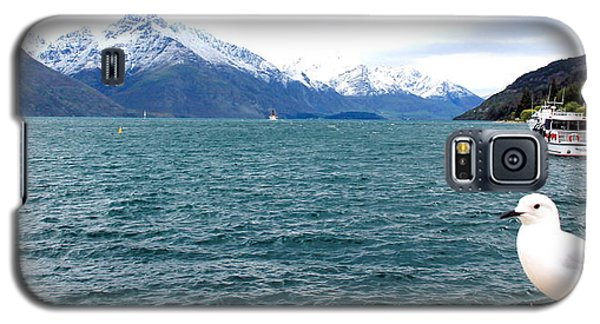 Galaxy S5 Case featuring the photograph Southern Alps Across Lake Wakatipu by Laurel Talabere