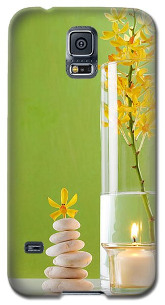 Spa Concepts With Green Background Galaxy S5 Case