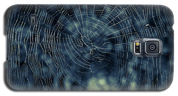 Galaxy S5 Case featuring the photograph Spider Web by Matt Malloy