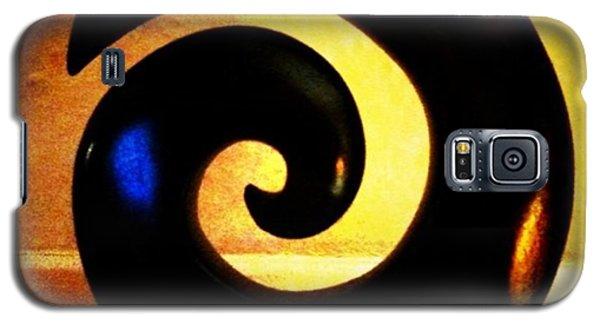 Light Galaxy S5 Case - Spiral by Ken Powers