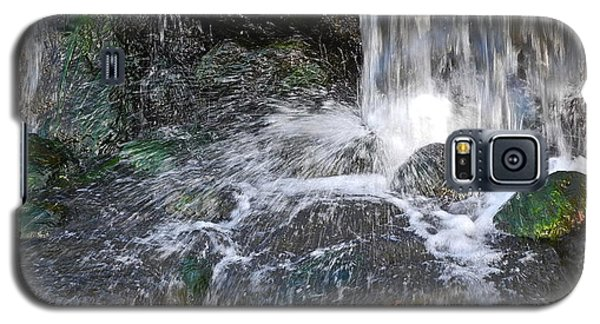 Galaxy S5 Case featuring the photograph Splashing Water Falls by Kirsten Giving
