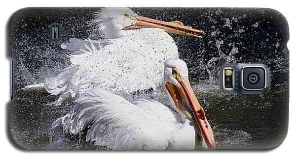 Galaxy S5 Case featuring the photograph Splish Splash by Elizabeth Winter