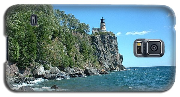 Galaxy S5 Case featuring the photograph Split Rock by Bonfire Photography